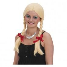Peruukki Blondi Leteillä