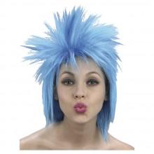 Peruukki Punkkari Sininen