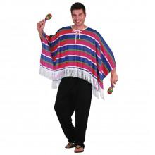 Naamiaisasu Meksikolainen Poncho