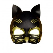 Silmänaamio Kissa Musta & Kulta