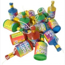 Party Poppers 7-pakkaus