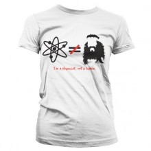 The Big Bang Theory - I'm A Physicist, Not A Hippie Naisten T-Paita