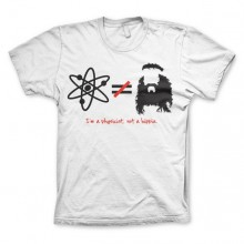 The Big Bang Theory - I'm A Physicist, Not A Hippie T-paita