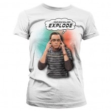 Sheldon - Your Head Will Now Explode Naisten T-paita