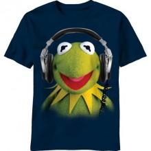Muppetit Kermit Blasting T-paita
