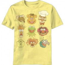 The Muppets Vintage Faces T-paita