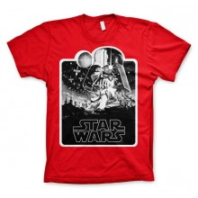 Star Wars Deathstar Poster T-Paita