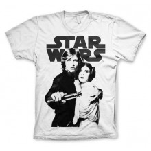 Star Wars Skywalker & Leia T-Paita