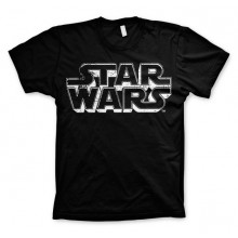 Star Wars Distressed Logo T-Paita
