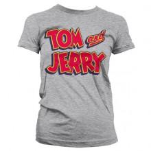 Tom & Jerry Logo NaistenT-paita