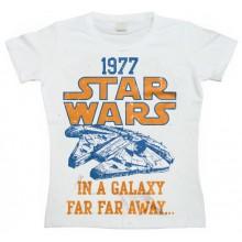 Star Wars 1977 T-Paita Naisten