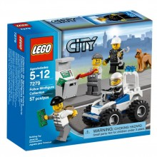 LEGO City Pienoishahmokokoelma Poliisiteema 7279