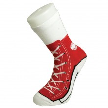 Silly Socks Baseball Punainen