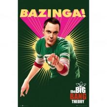 Big Bang Theory Bazinga Juliste