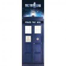 Doctor Who Tardis Juliste
