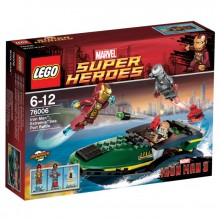 LEGO Super Heroes Ironman Satamataistelu 76006