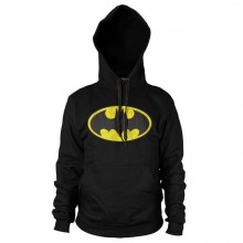 Batman Distressed Logo Huppari