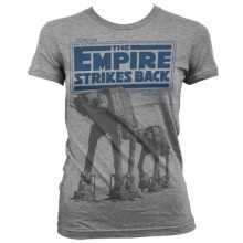 Star Wars Empire Strikes Back AT-AT Naisten T-Paita