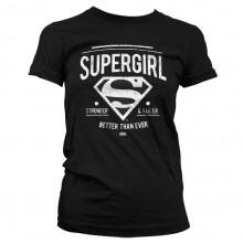 Superman Supergirl Naisten T-Paita
