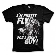Batman I´m Pretty Fly For A Night Guy T-Paita