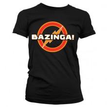Big Bang Bazinga Underground Logo Naisten T-Paita
