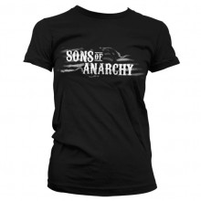 Sons Of Anarchy SOA Flag Logo Naisten T-Paita