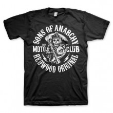 Sons Of Anarchy SOA Moto Club T-Paita