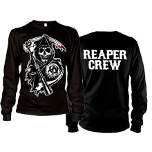 Sons Of Anarchy SOA Reaper Crew Long Sleeve T-Paita