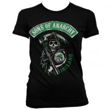 Sons Of Anarchy Ireland Girly T-Paita
