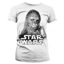 Star Wars Chewbacca Girly T-Paita