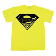 Superman Halftone Shield T-Paita
