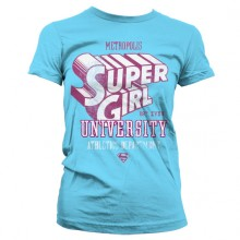 Supergirl Athletics Dept. Girly T-Paita