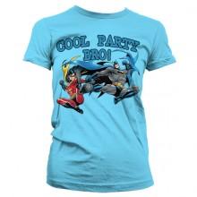 Batman - Cool Party Bro! Girly T-Paita