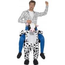 Ratsastava Lehmä Naamiaisasu