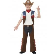 Cowboy Teksas Lasten Naamiaisasu