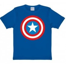 Marvel Captain America Shield Lasten T-Paita Sininen