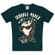 Looney Tunes Trouble Maker Lasten T-Paita Musta