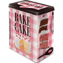 Peltipurkki Retro Bake A Cake
