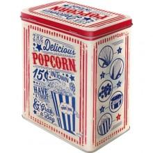 Peltipurkki Retro Popcorn