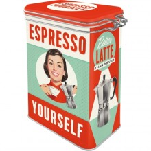Kahvipurkki Retro Espresso Yourself