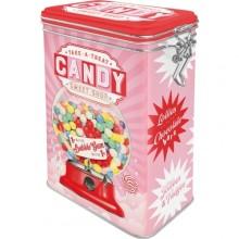 Peltipurkki Retro Candy