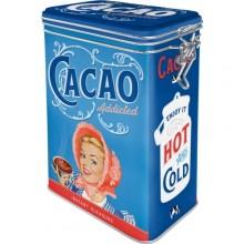 Peltipurkki Retro Cacao Addicted