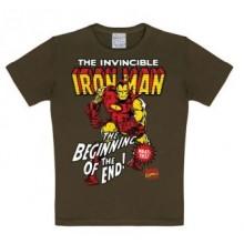 Marvel Iron Man Lasten T-Paita Ruskea