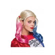 Peruukki Suicide Squad Harley Quinn