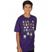 Minecraft Sprites Lasten t-paita