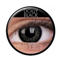 Värilliset linssit big eyes dolly black