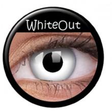 Värilliset linssit crazy total whiteout