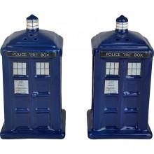 Doctor Who Suola- ja pippuripurkit Tardis
