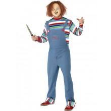 Miesten Chucky Naamiaispuku