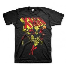 X-Men Distressed T-Paita